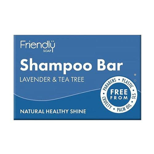 Friendly Soap Natural Shampoo Bar Lavender & Tea Tree